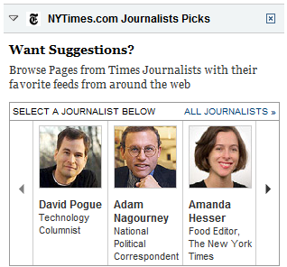 My Times journalist picks