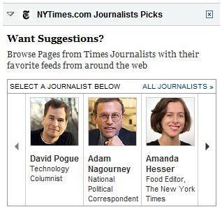 My Times journalist picks
