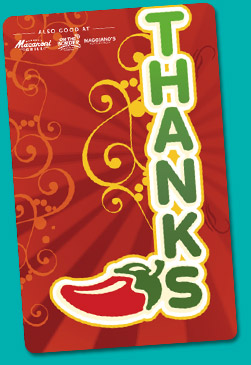 Chilis gift card