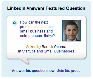 Barack Obama asks LinkedIn