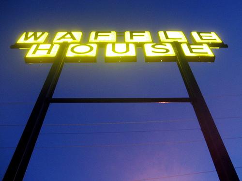 Waffle House sign