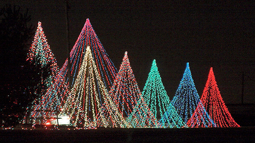 Christmas lights from flickr