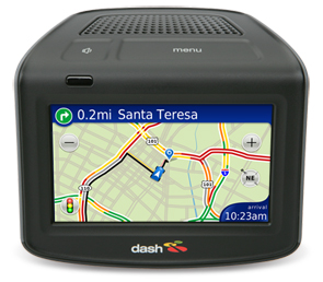Dash connected GPS