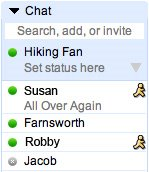 AIM integration into Google Chat