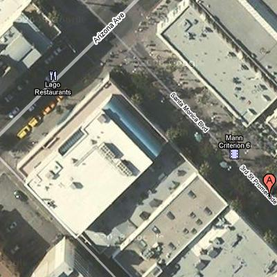 Business names and landmarks on Google Maps
