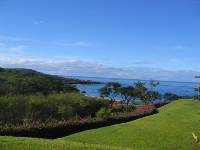 View from room Angelfish 3, Manele Bay Hotel